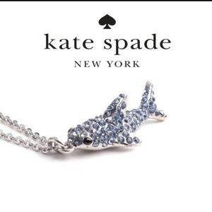 ♠️  Kate Spade ♠️ Pave Shark Necklace